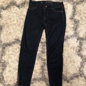 White House Black Market Jeans Skimmer Size 00